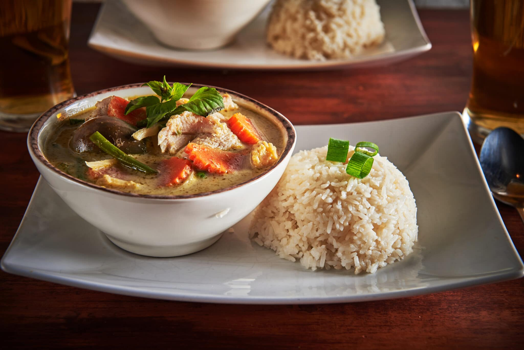 Vegansk Thai takeaway